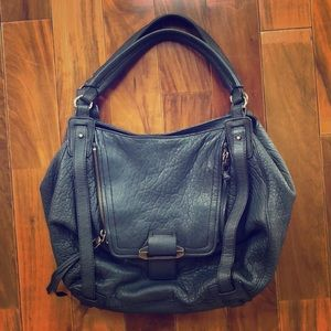 The perfect navy leather purse!